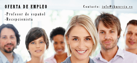 trabajo murcia instituto hispanico