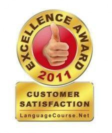 Awarded by LANGUAGE COURSE .NET