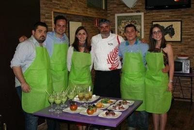 Spanish language course cooking murcia
